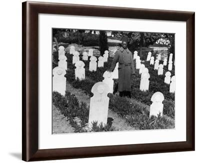 War Cemetery--Framed Photographic Print