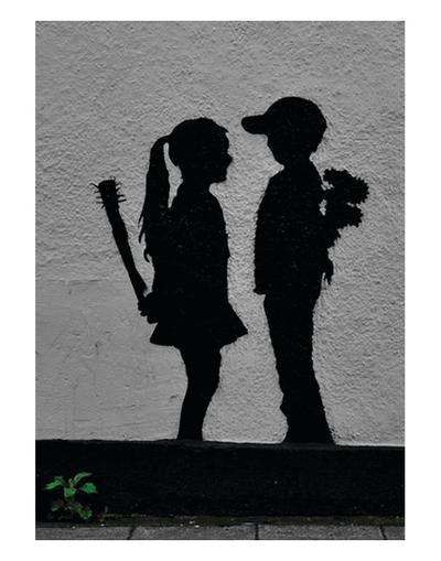 War Children-Banksy-Art Print