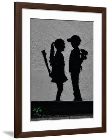 War Children-Banksy-Framed Giclee Print
