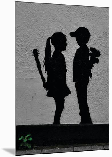 War Children-Banksy-Mounted Giclee Print