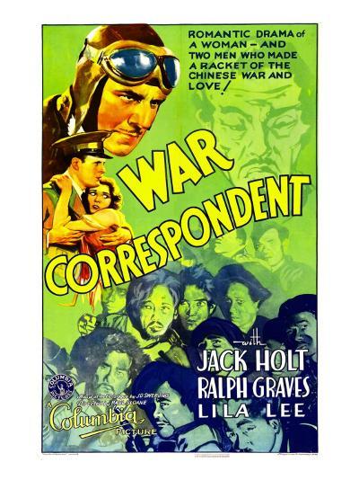 War Correspondent, 1932--Photo