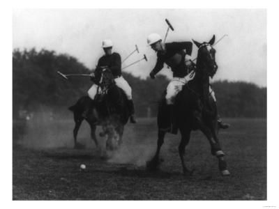 War Department Polo Association Match Photograph - Washington, DC-Lantern Press-Art Print