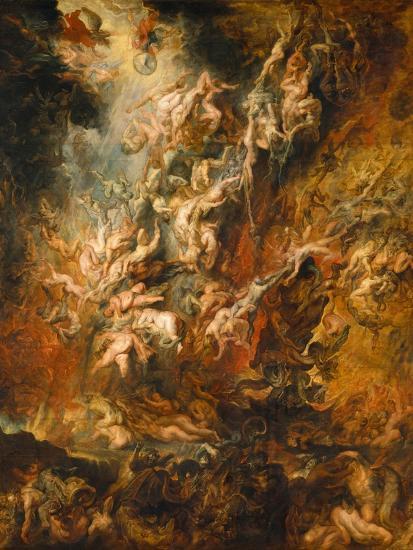 War In Heaven Giclee Print By Peter Paul Rubens Art Com