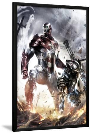 War Machine No.10 Cover: Iron Patriot and War Machine