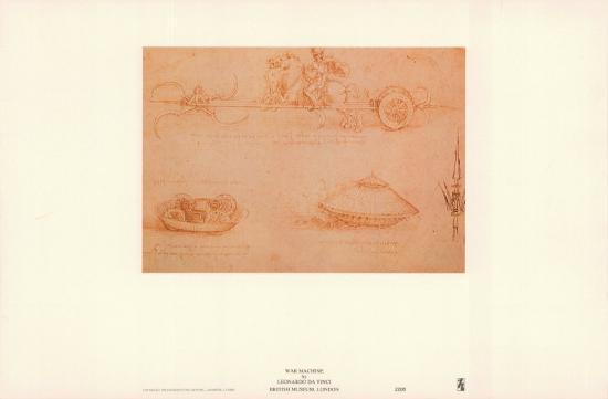 War Machine-Leonardo da Vinci-Art Print