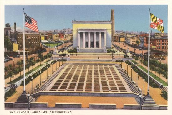 War Memorial, Baltimore--Art Print