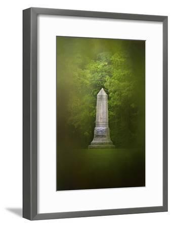 War Monument in Spring-Jai Johnson-Framed Giclee Print
