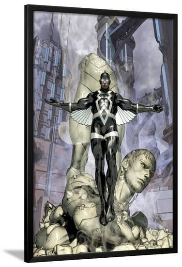 War of Kings No.4 Cover: Black Bolt-Brandon Peterson-Lamina Framed Poster