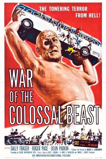 War of the Colossal Beast--Art Print