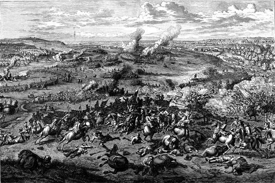 War of the Spanish Succession: Battle of Blenheim, Bavaria, 3 August 1704--Giclee Print