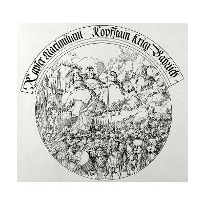 War of the Succession of Landshut (1503-1505). Siege of Kufstein (1505).--Giclee Print