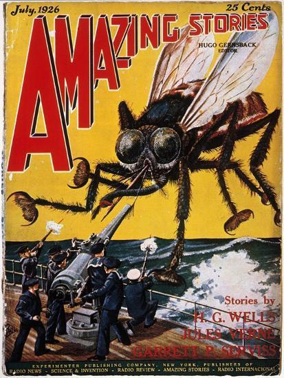 War Of The Worlds, 1927-H.G. Wells-Giclee Print