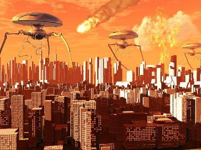 War of the Worlds-Stocktrek Images-Photographic Print