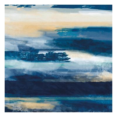 War On The Sea 1-Cynthia Alvarez-Art Print