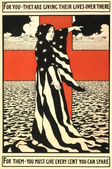 War Propaganda of Bond Sales--Giclee Print