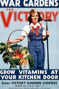 War Gardens For Victory Grow Vitamins At Your Kitchen Door by War War Department