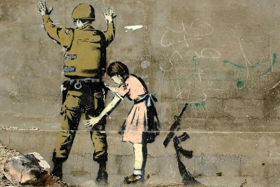 War-Banksy-Premium Giclee Print