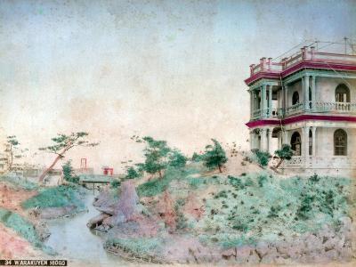 Warakuyen Hiogo (Hyogo Prefectur), Japan--Giclee Print