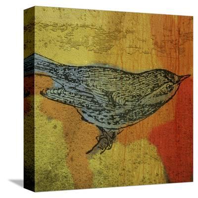 Warbler No. 1-John Golden-Stretched Canvas Print