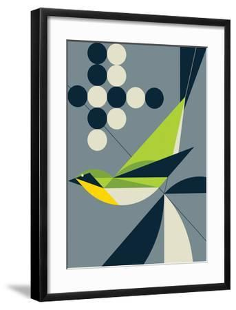 Warbler-Greg Mably-Framed Art Print