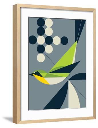 Warbler-Greg Mably-Framed Art Print