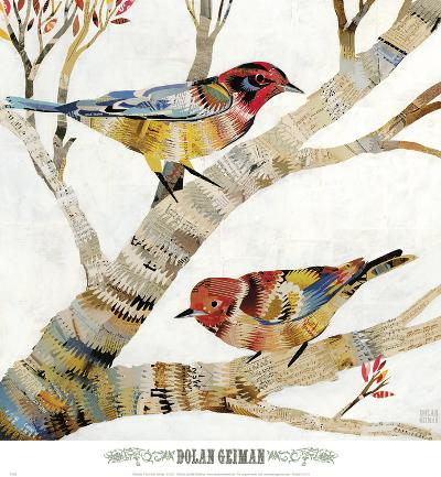 Warblers II-Dolan Geiman-Art Print