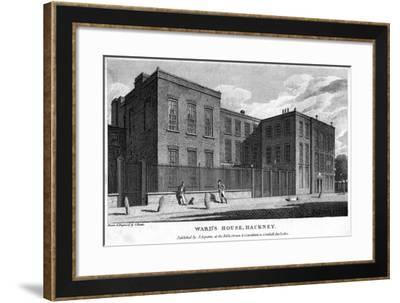 Ward's House, Hackney, London, 1805-Samuel Rawle-Framed Giclee Print