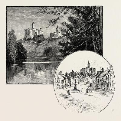 Warkworth Castle (Left)--Giclee Print