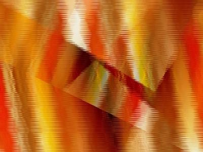 Warm And Wavy-Ruth Palmer-Art Print