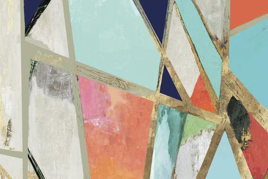 Warm Geometric II-PI Studio-Premium Giclee Print