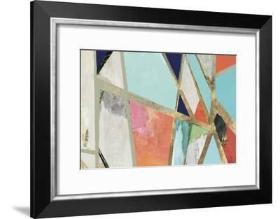 Warm Geometric II-PI Studio-Framed Art Print