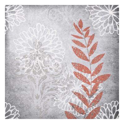 Warm Gray Red-Kristin Emery-Art Print