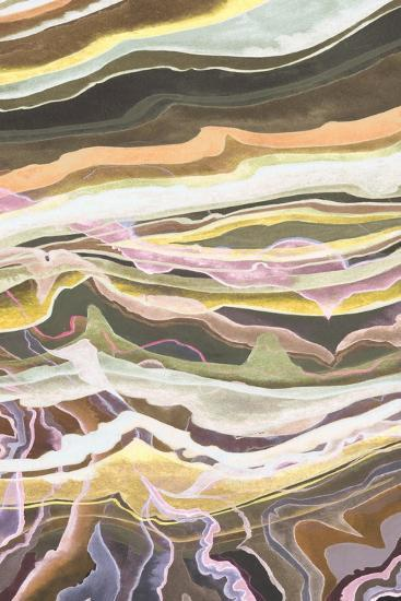 Warm Minerals I-Grace Popp-Art Print