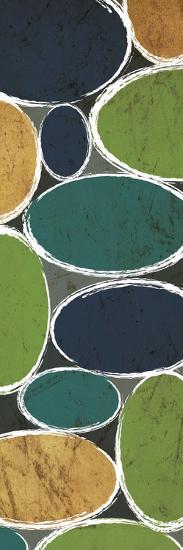 Warm Ovals Mate-Kristin Emery-Art Print