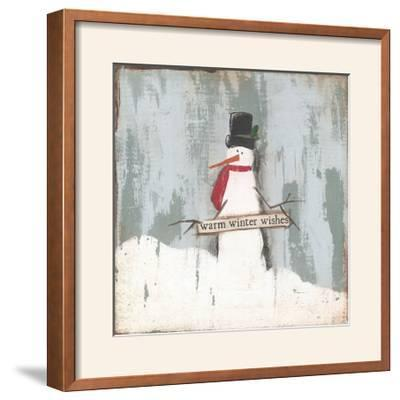 Warm Winter Wishes-Cassandra Cushman-Framed Photographic Print