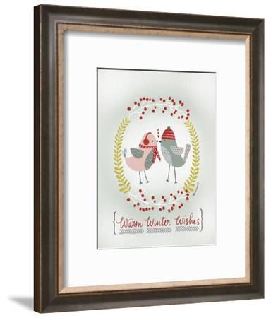 Warm Winter Wishes-Katie Doucette-Framed Art Print