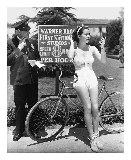 Warner Bros. Studios 1935-Hollywood Historic Photos-Art Print