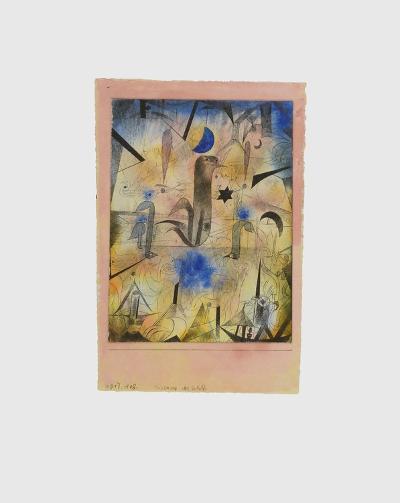 Warnung der Schiffe-Paul Klee-Collectable Print