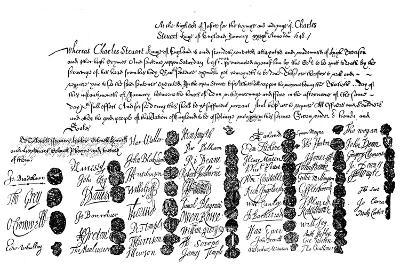Warrant for the Execution of King Charles, 1648--Giclee Print