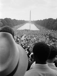 Civil Rights March on Washington, D.C. by Warren K^ Leffler