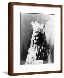 Geronimo (1829-1909) by Warren Mack Oliver