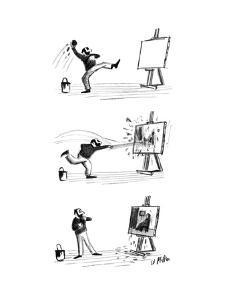 New Yorker Cartoon by Warren Miller
