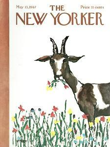 The New Yorker Cover - May 13, 1967 by Warren Miller