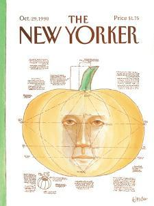 The New Yorker Cover - October 29, 1990 by Warren Miller