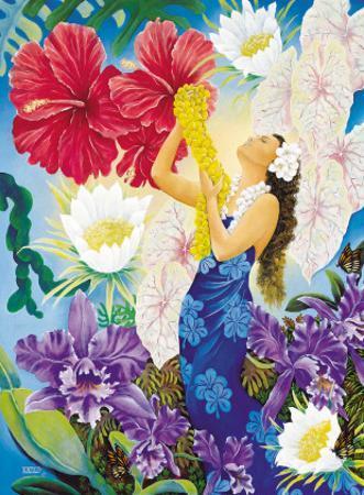 A Lei Of Aloha by Warren Rapozo