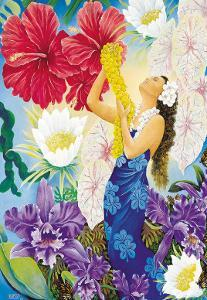 A Lei Of Aloha by Warren Rapozo