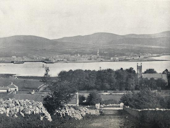 'Warrenpoint - From Omeath, on the Opposite Side of Carlingford Lough', 1895-Unknown-Photographic Print