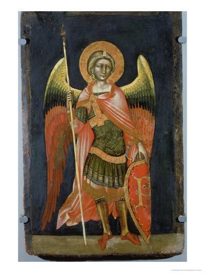 Warrior Angel, 1348-54-Ridolfo di Arpo Guariento-Giclee Print