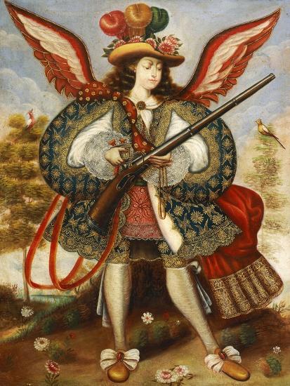 Warrior Angel--Giclee Print
