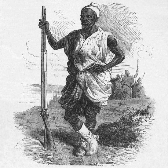'Warrior of Elmina', c1880-Unknown-Giclee Print